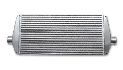Air-to-Air Intercooler with End Tanks