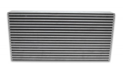 "Air-to-Air Intercooler Core : 22"" x 9.85"" x 4"""