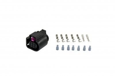 Bosch LSU 4.9 Wideband Connector Kit for 30-4110. Includes: Bosch LSU 4.9 Connector, 7 X Wire Seals & 7 X Contacts