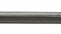 10ft Roll of Stainless Steel Braided Flex Hose- AN Size: -6- Hose ID 0.34""