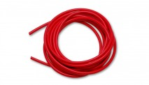 "1/4"" (6mm) I.D. x 25ft Silicone Vacuum Hose Bulk Pack - Red"