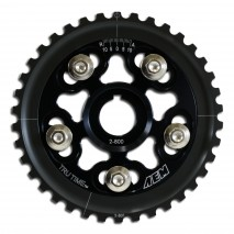 Tru-Time Adjustable Cam Gear. Black. 5-Bolt. Honda D15B7, D16A6 & D16Z6