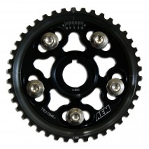 Tru-Time Adjustable Cam Gear. Black. 5-Bolt. Honda H22A1 & H22A4