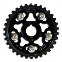Tru-Time Adjustable Cam Gear. Black. 5-Bolt. Acura B17A1, B18A1, B18B1, B18C1 & B18C5. Honda B16A2, B16A3, B20A5, B20B4, B20Z2, B21A1 & H23A1
