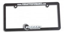 Vibrant Performance License Plate Frame