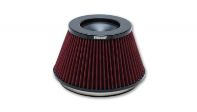 """THE CLASSIC"" Performance Air Filter (6"" inlet ID, 3-5/8"" Filter Height) - designed for Bellmouth Velocity Stacks"