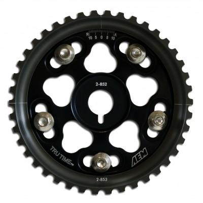 Tru-Time Adjustable Cam Gear. Black. 5-Bolt. Chrysler VIN:C SOHC. Dodge VIN:C SOHC. Plymouth VIN:C SOHC