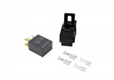 Micro-Relay Kit. Includes: Micro-Relay, Connector, 2 Large Pins & 2 Small Pins