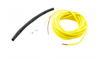 """K-Type Closed Tip Thermocouple 10' Wiring Extension Kit. Includes: 10' Wiring Extension, 2 X 4-40 Hex Nut, 2 X 4-40 Screw & 6"""" Heat Shrink Tubing"""