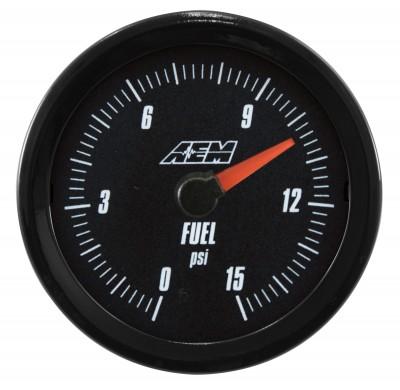 Fuel Pressure Gauge 0-15PSI