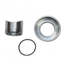 Weld On Flange Kit for HKS SSQ BOV (Mild Steel Weld Fitting / Aluminum Flange)