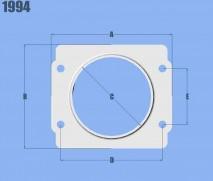 Mass Air Flow Sensor Adapter Plate for Subaru applications