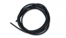 "3/16"" (5mm) I.D. x 25ft Silicone Vacuum Hose Bulk Pack - Black"