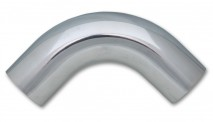 "1.5"" O.D. Aluminum 90 Degree Bend - Polished"