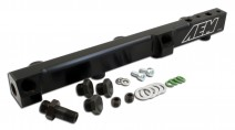 High Volume Fuel Rail. Black. Honda F22A1, F22A4, F22A6, H22A1, H22A4 & H23A1