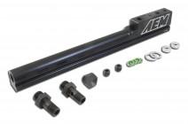 High Volume Fuel Rail. Black. Honda D15B7, D15B8, D16A6 & D16Z6