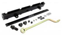 High Volume Fuel Rail. Black. Acura K20A2, K20A3 & K20Z1. Honda K20A3