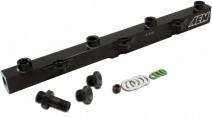 High Volume Fuel Rail. Black. Honda F20C1 & F22C1