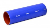 """4 Ply Silicone Sleeve, 1.25"""" I.D. x 12"""" long - Blue"""