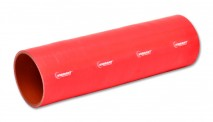 """4 Ply Silicone Sleeve, 1.25"""" I.D. x 12"""" long - Red"""