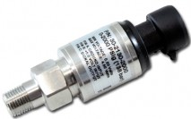 """2000 PSIg Stainless Sensor Kit. Stainless Steel Sensor Body. 1/8"""" NPT Male Thread. Includes: 2000 PSIg Stainless Sensor, Connector, Pins & 1/8"""" NPT to -4 Adapter"""