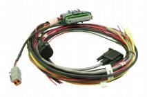 """AQ-1 18"""" Mini Harness. Pre-wired for Power, Ground, CAN & USB Coms"""