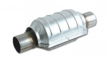 "Round Ceramic Core Catalytic Converter (2.5"" inlet/outlet)"