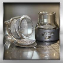 FUPA #12 Glass Kit (w/Ti Cover)